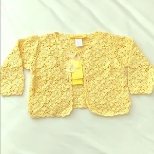 Gymboree Hand knitted cutest cardigan sweater